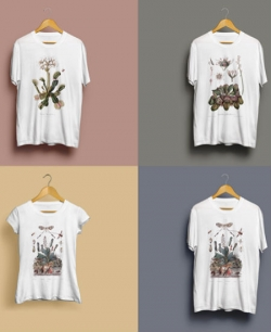 New range of Triffid Classic Botanic T-shirts now instock and ready for Summer!